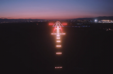 new lighting systems in Tbilisi international Airport